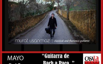 """Guitarra de Bach a Paco.."" Murat Usanmaz"