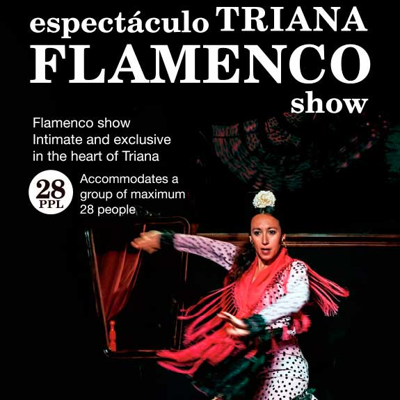 TRIANA FLAMENCO SHOW. Espectáculo Flamenco en Triana.