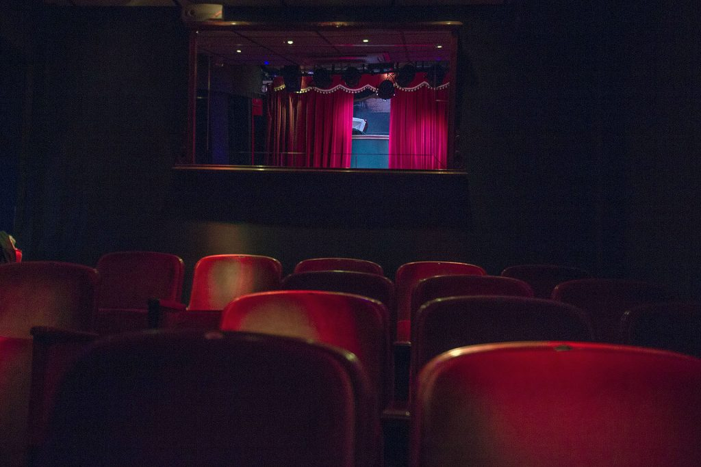 CasaLa Teatro, detalle patio de butacas del teatro
