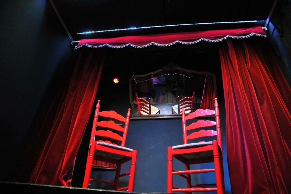 CasaLa Teatro, escenario del teatro