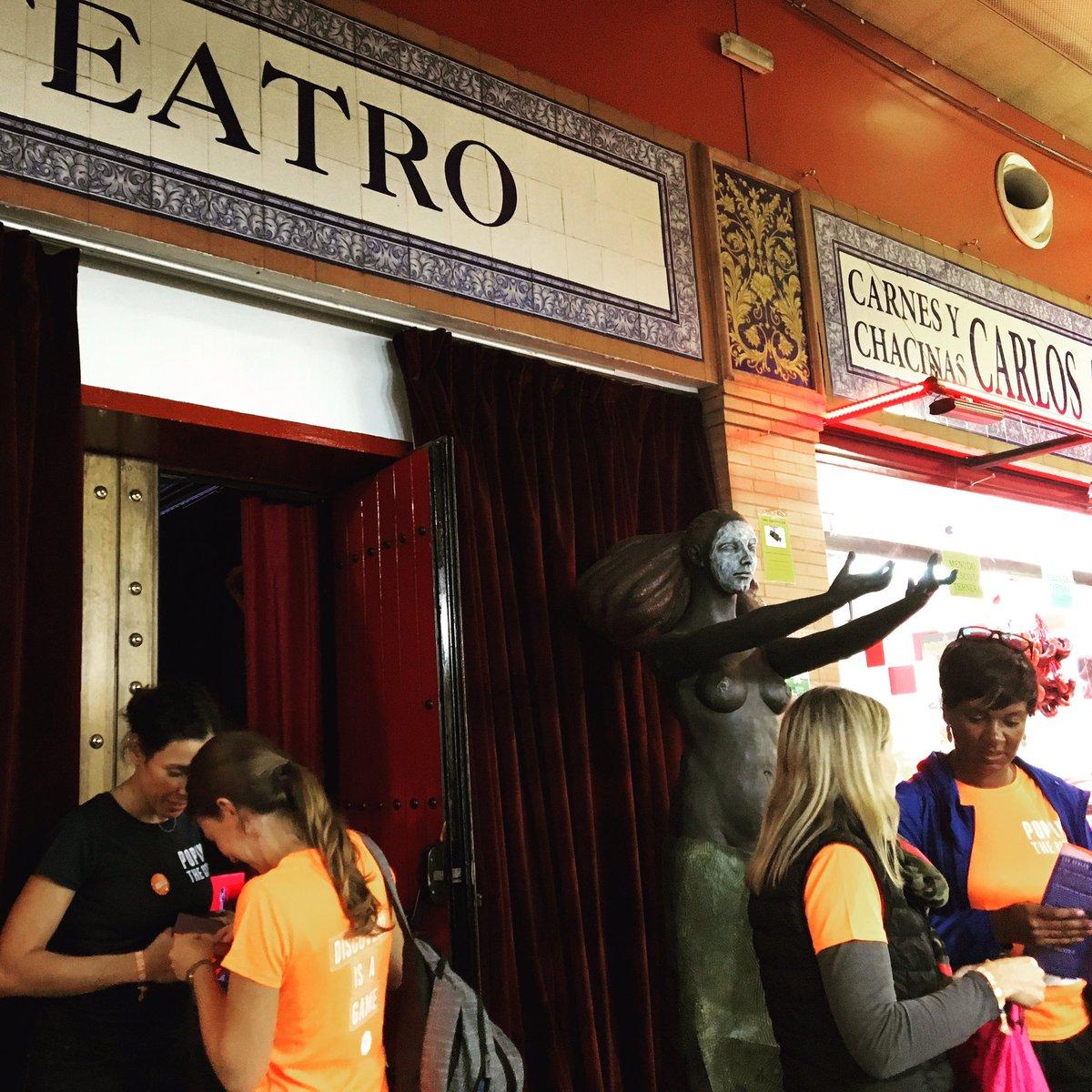 CasaLa Teatro, entrada del teatro