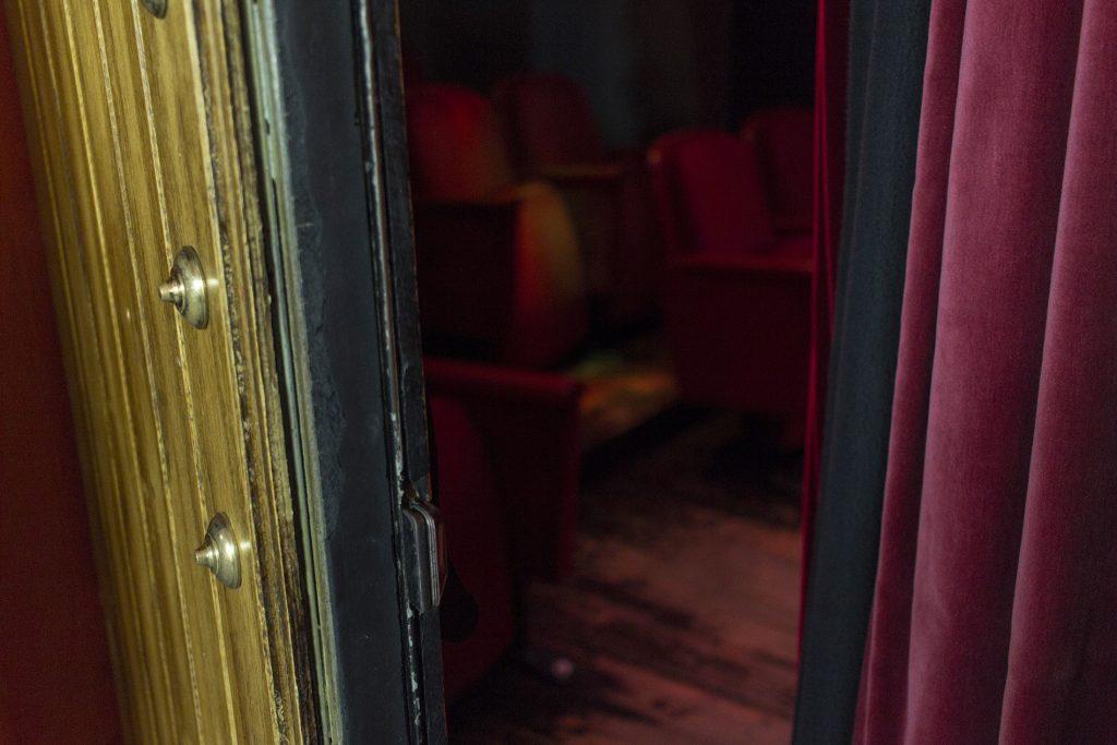 CasaLa Teatro, puerta de entrada del teatro