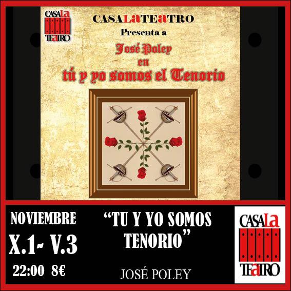 TU Y YO SOMOS TENORIO. José Poley
