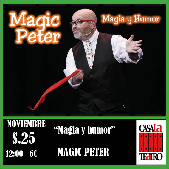 MAGIE ET ​​HUMOUR Magic Peter