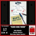 MARIO doit mourir. Julia Hidalgo et Antonio Romero