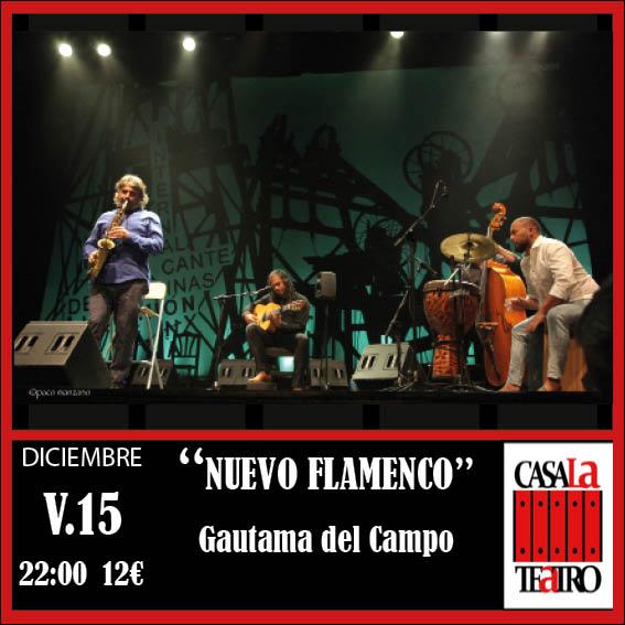 CONCIERTO NUEVO FLAMENCO · Gautama del Campo
