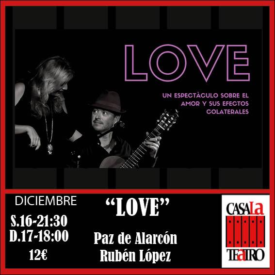 LOVE. Paz de Alarcón y Rubén López