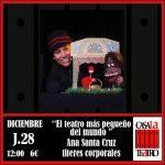 THE WORLD'S SMALLEST THEATER · Ana Santa Cruz