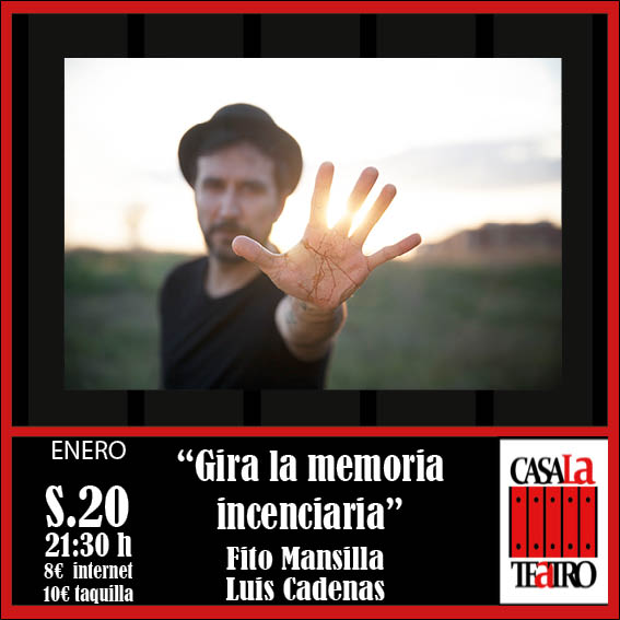 ROTATE Incendiary MEMORY. Fito Luis Mansilla and Chains