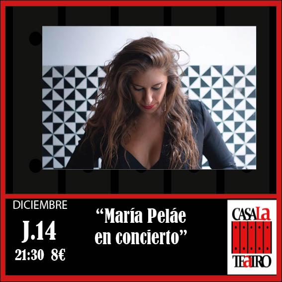 María Peláe en Concierto