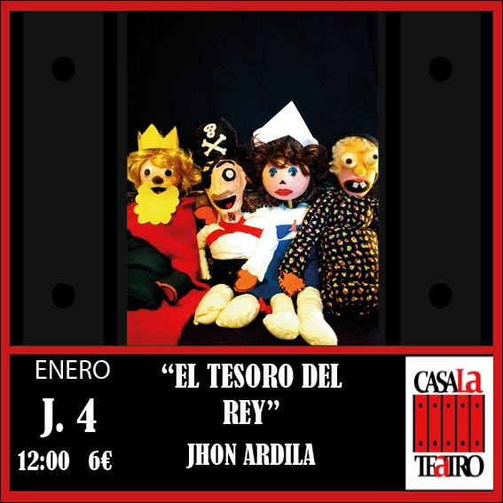 EL TESORO DEL REY. Jhon Ardila