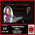 TRAVELING BY COPLA. Virginia Jiménez and Manolo Torres