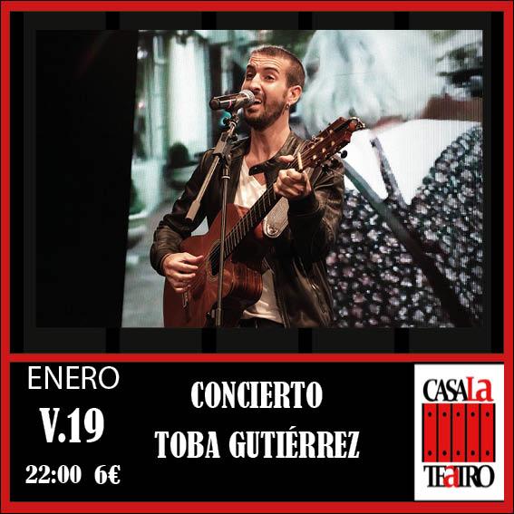 CONCERT TOBA GUTIERREZ