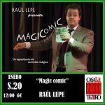 MAGIA Y COMEDIA. RAUL LEPE