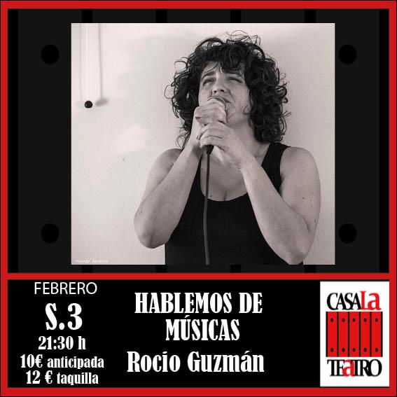 HABLEMOS DE MÚSICAS, Rocio Guzmán