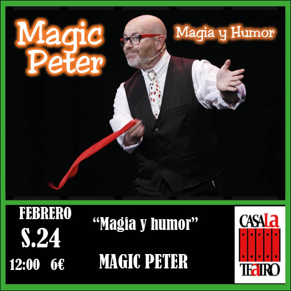 MAGIC AND HUMOR, Magic Peter