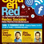 GOLD IN RED. intensive workshop on social networks for musical projects