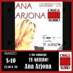 Y sin embargo TE QUIERO! Ana Arjona