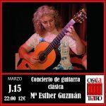 CONCIERTO DE GUITARRA CLÁSICA · María Esther Gúzmán