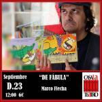 DE FÁBULA con Marco Flecha