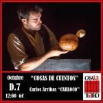 COSAS DE CUENTOS con Carlos Arribas CARLOCO
