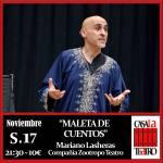 MALETA DE CUENTOS con Mariano Lasheras