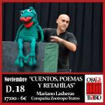CUENTOS, POEMAS Y RETAHÍLAS con Mariano Lasheras