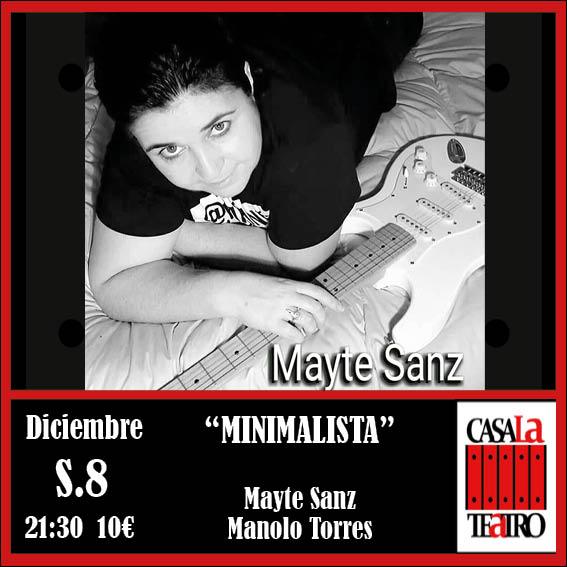 MINIMALISTA con Mayte Sanz y Manolo Torres