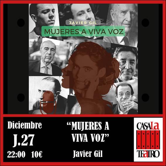MUJERES A VIVA VOZ con Javier Gil