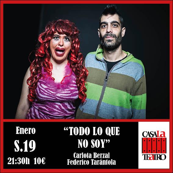 TODO LO QUE NO SOY con Carlota Berzal y Federico Tarántola