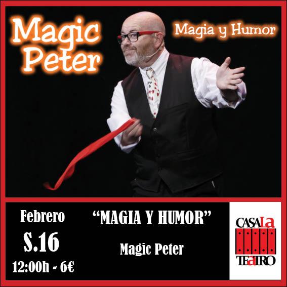 MAGIA Y HUMOR con Magic Peter