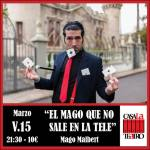THE MAGICIAN NO SALE ON TV with Mago Malbert