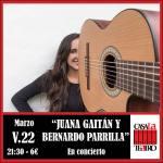 JUANA GAITÁN Y BERNARDO PARRILLA en concierto