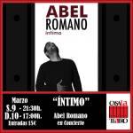 ÍNTIMO concierto Abel Romano