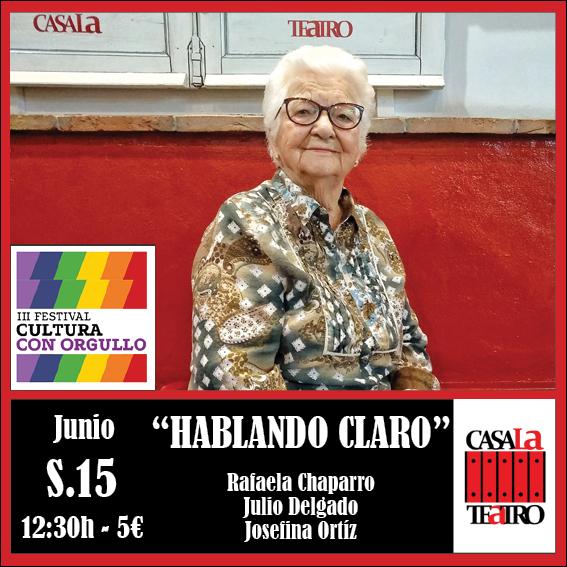 HABLANDO CLARO con Rafaela Chaparro