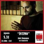 concert avec Abel Romano INTIME