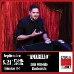 AMARILLO with Luis Olmedo Illusionist