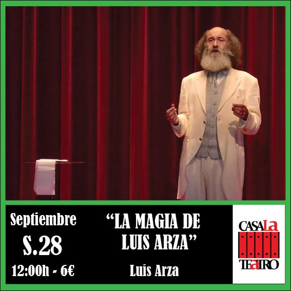 LA MAGIA de Luis Arza
