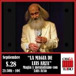 MENTALISM and magic with Luis Arza