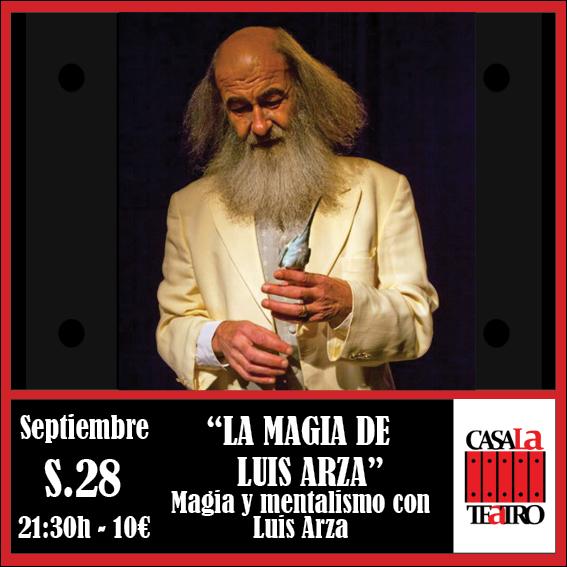 Mentalisme et magie avec Luis Arza