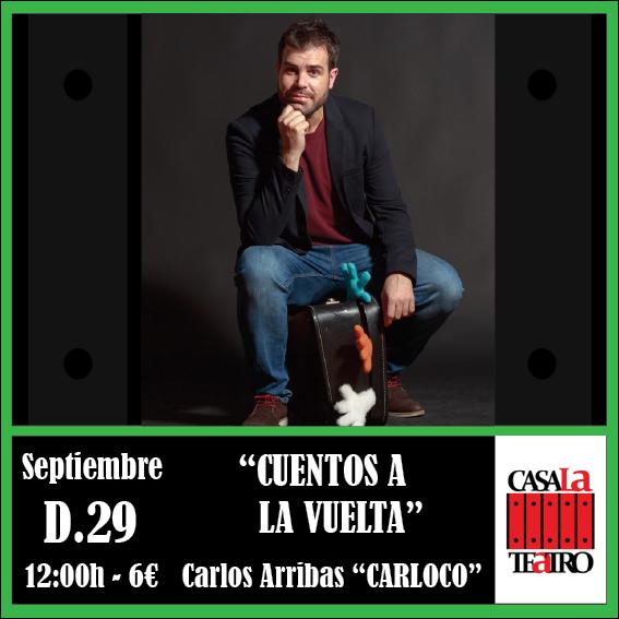 CONTES DE RETOUR Carlos Arribas Carloco
