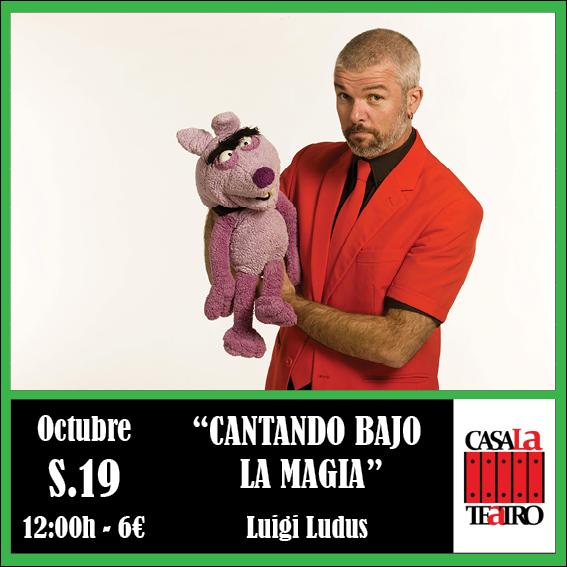 Chantons dans la magie avec Luigi Ludus