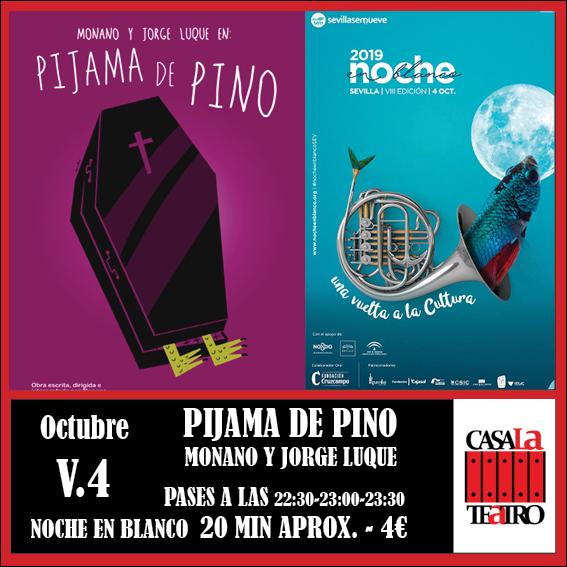 PYJAMA Monano pin et Jorge Luque