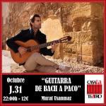 Récital de guitare BACH A PACO avec Murat Usanmaz