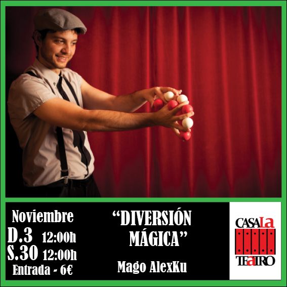 DIIVERSIÓN MAGIQUE avec Mago Alexku