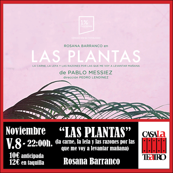 Plants with Rosana Barranco