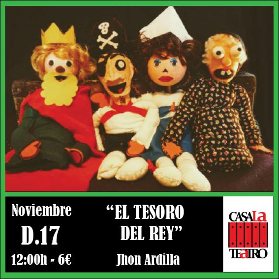 EL TESORO DEL REY con Jhon Ardila
