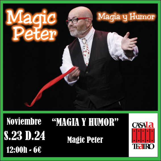 ET HUMOUR avec MAGIC magie Peter