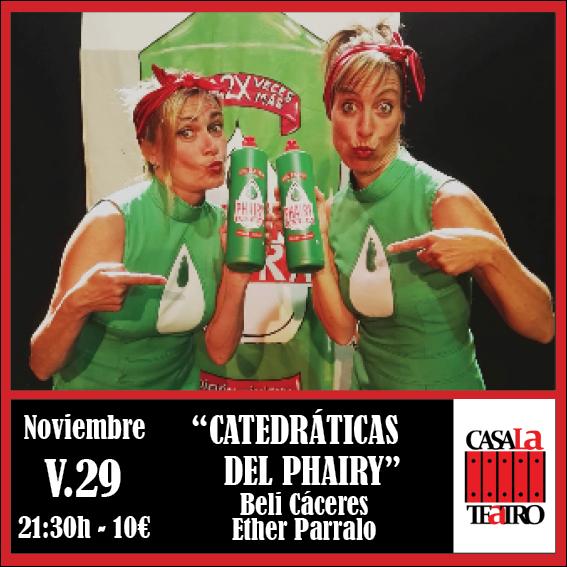CATEDRÁTICAS DEL PHAIRY con Beli Cáceres y Esther Parralo