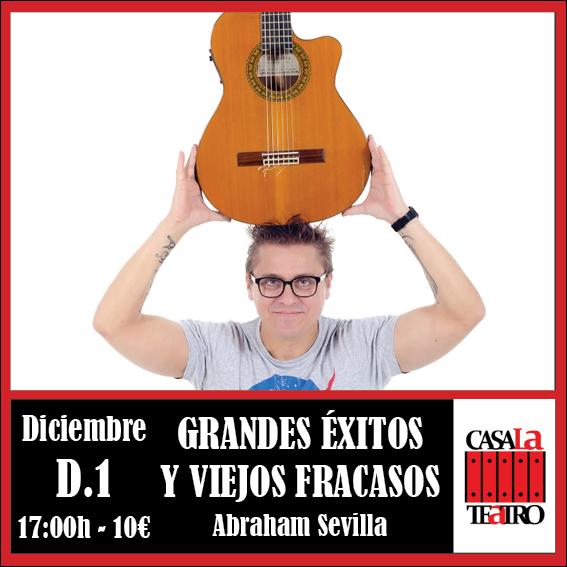 Réussites et échecs concert avec Abraham GRAND VIEUX Sevilla